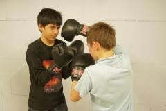 Boxtraining mit Jürgen-Lütz
