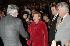 Treffen mit Bundeskanzlerin Merkel