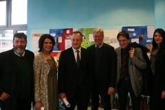Besuch des Kultusminister, Andreas Stoch