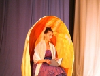 16 Ophelias Schattentheater Klassenspiel der 8a/8s